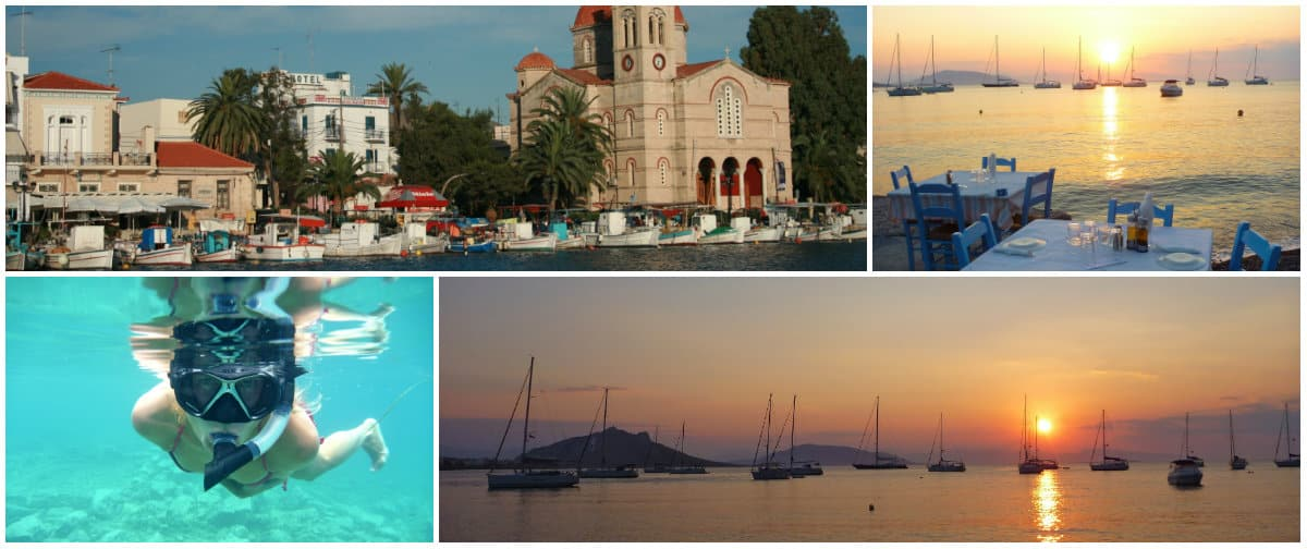 Athens 1 week sailing holiday itinerary