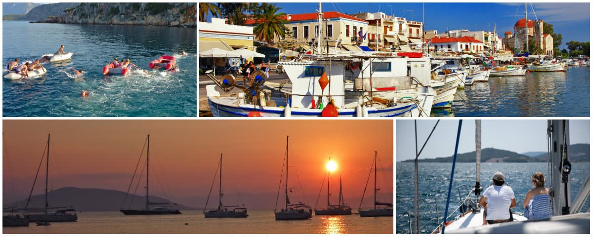 Athens 2 week sailing holiday itinerary