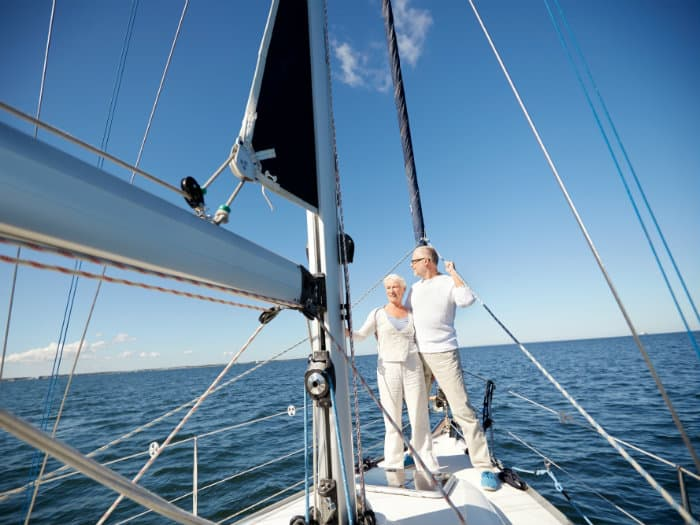 Sailing holidays for couples and friends