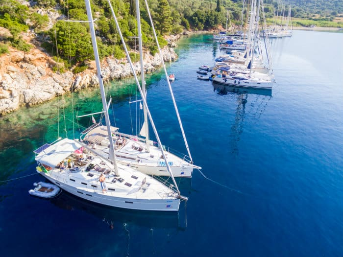 Learn to sail on flotilla