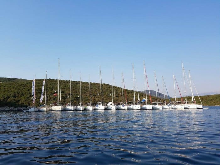 Ionian Flotilla in Greece