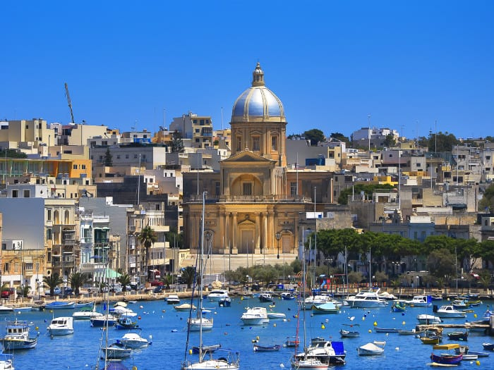 Sailing holidays in Malta
