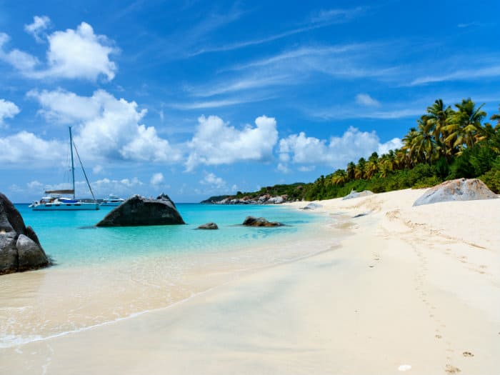 Sailing holidays in British Virgin Islands