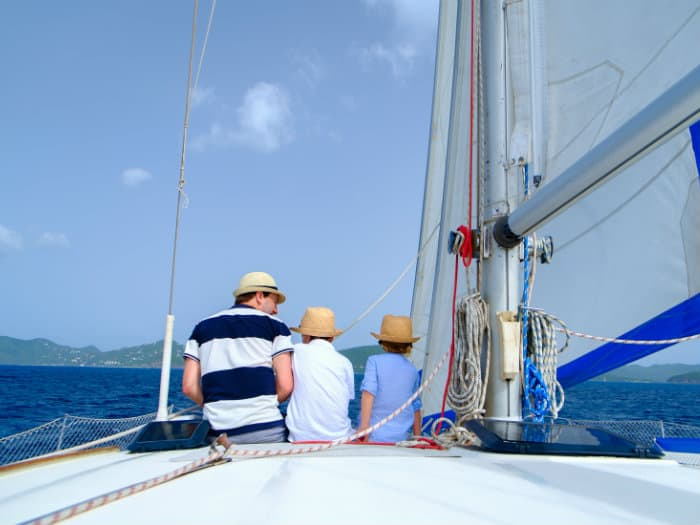 Sailing holidays for Families