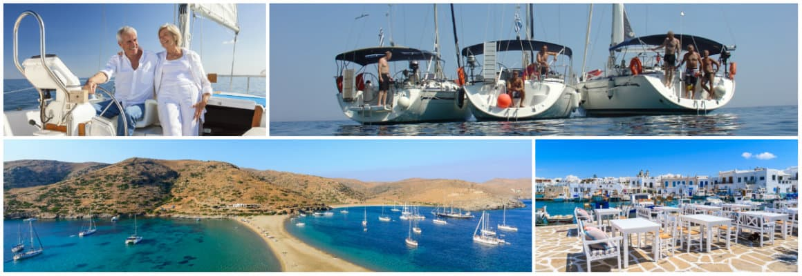 Aegean Lavrion 1 week sailing holiday itinerary