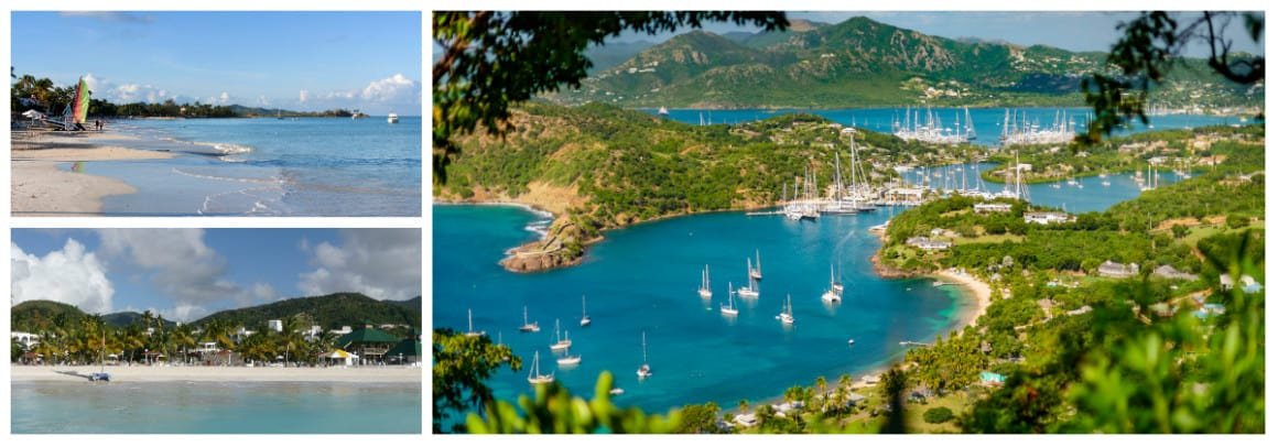 Antigua 1 week sailing holiday itinerary