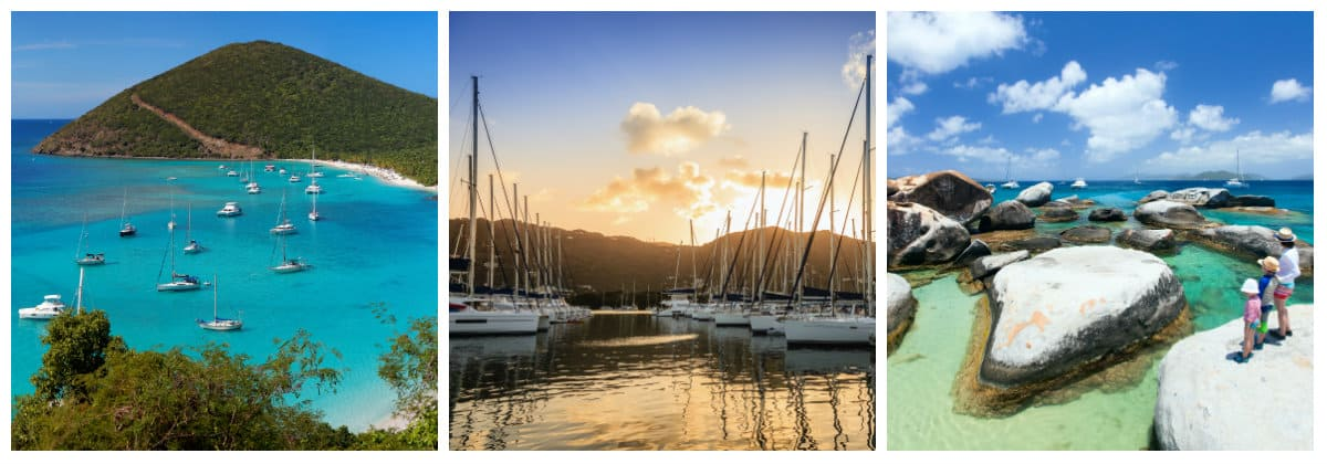 British Virgin Islands 1 week sailing holiday itinerary