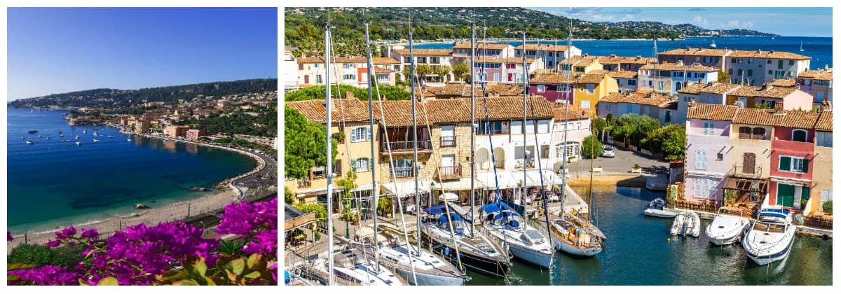Cote D'Azur Cassis Route 1 week flotilla sailing itinerary