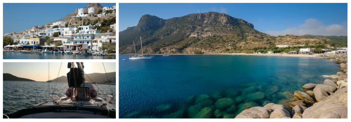 Dodecanese Kalymnos Route 1 week flotilla sailing holiday itinerary