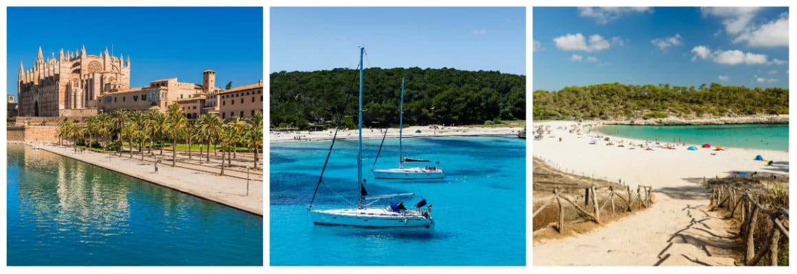 Mallorca 1 week sailing holiday itinerary