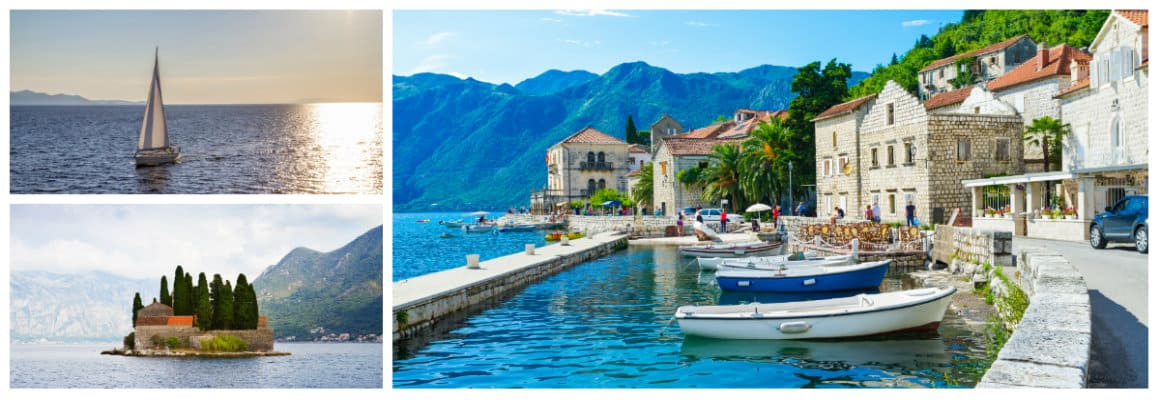 Montenegro 1 week sailing holiday itinerary