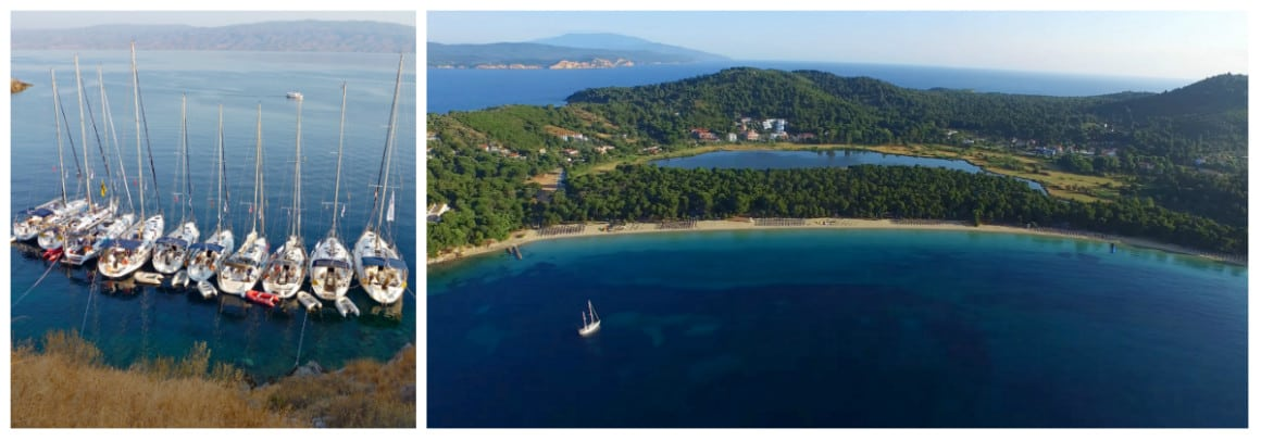 Pelion Route 1 week flotilla sailing holiday itinerary