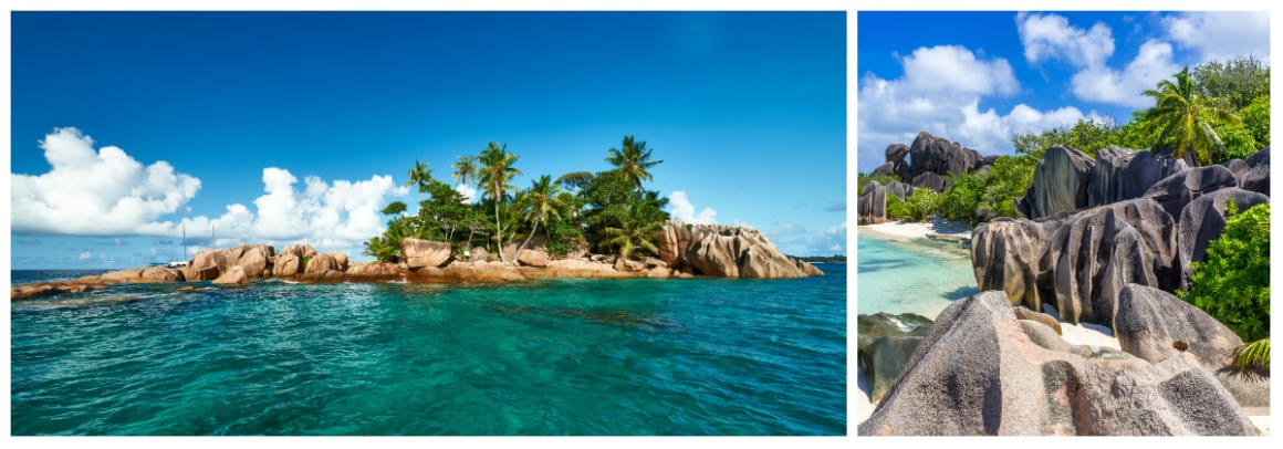 Seychelles November-April 1 week sailing holiday itinerary