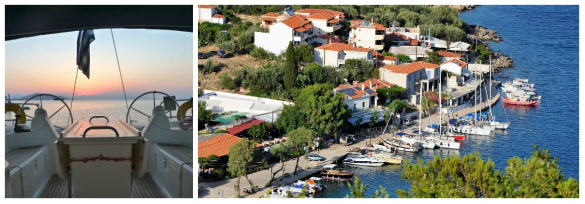 Sporades Route 1 week flotilla sailing holiday itinerary