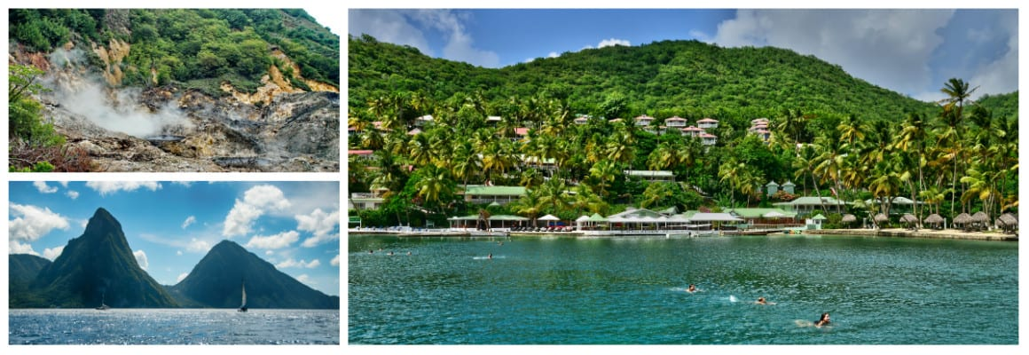 St Lucia 1 week sailing holiday itinerary